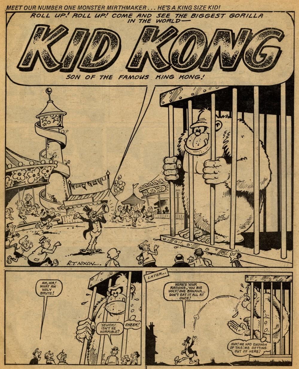 Kid Kong: Robert Nixon (artist)