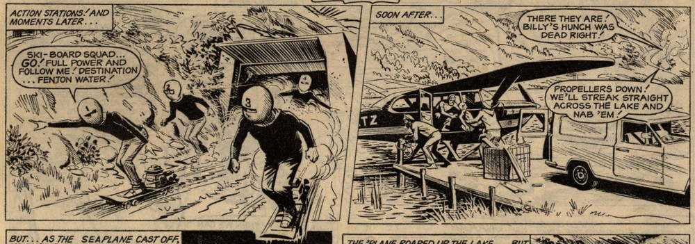Sammy Brewster's Ski-board Squad: Scott Goodall (writer), Joe Colquhoun (artist)