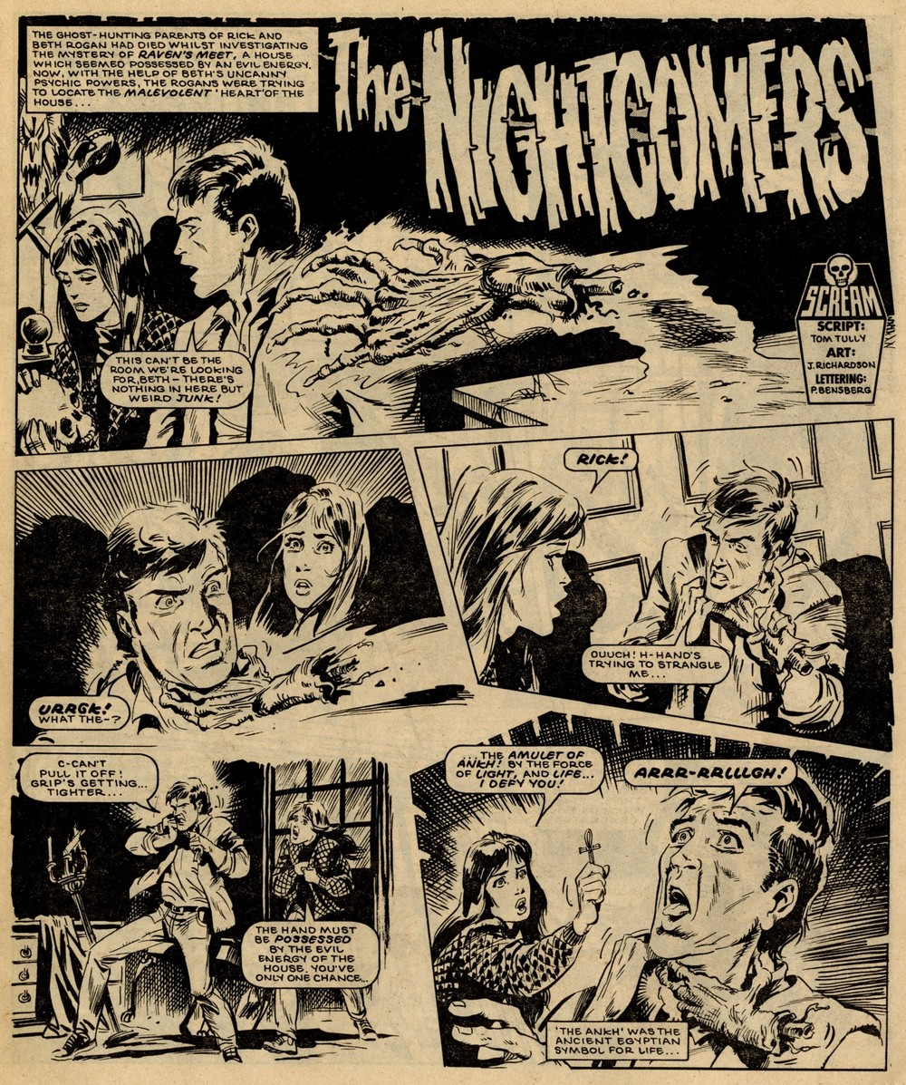 The Nightcomers: Tom Tully (writer), John Richardson (artist)