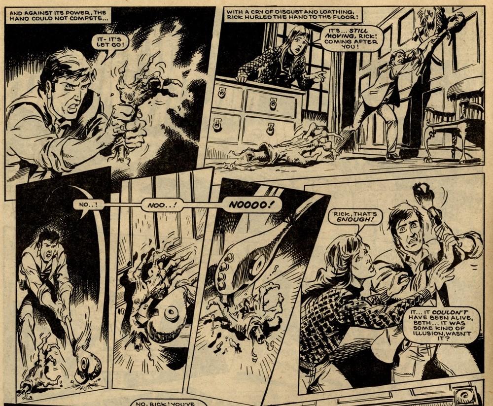 The Nightcomers: Tom Tully (writer), John Richardson (artist)