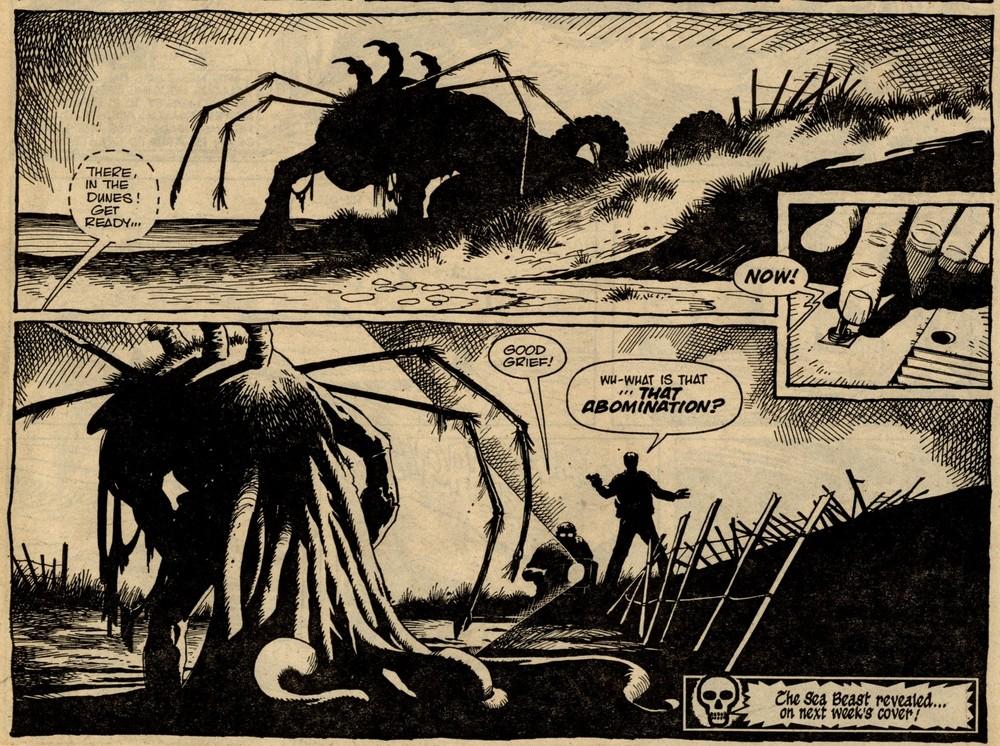 Library of Death: Sea Beast!: Simon Furman (writer), Steve Parkhouse (artist)