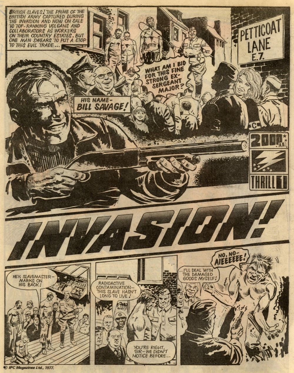 Invasion!: Gerry Finley-Day (writer), Mike Dorey (artist)