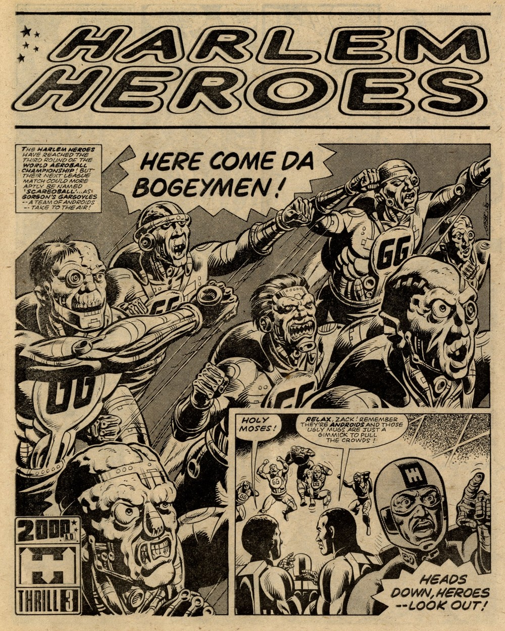 Harlem Heroes: Tom Tully (writer), Dave Gibbons (artist)
