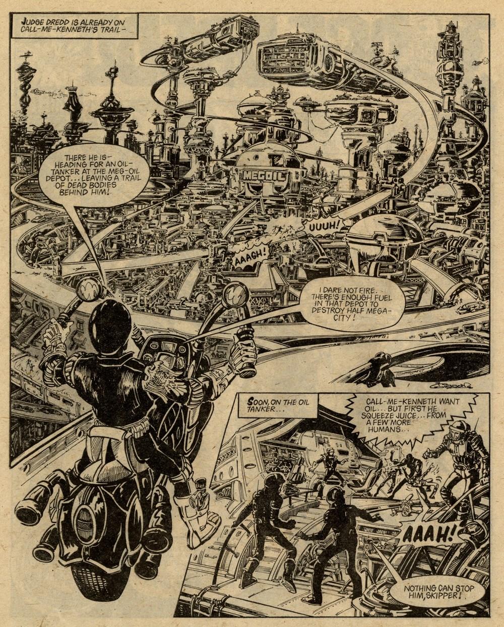 Judge Dredd: John Wagner (writer), Ian Gibson (artist)