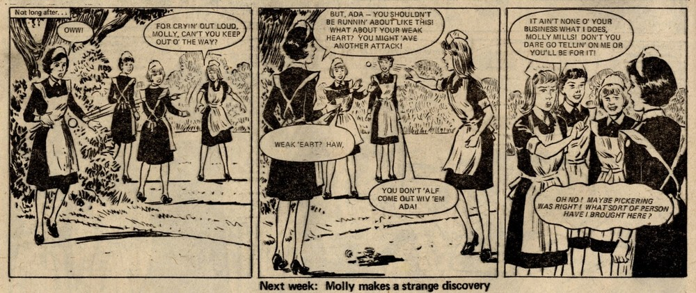 No Tears for Molly: Maureen Spurgeon (writer), Tony Thewenetti (artist)