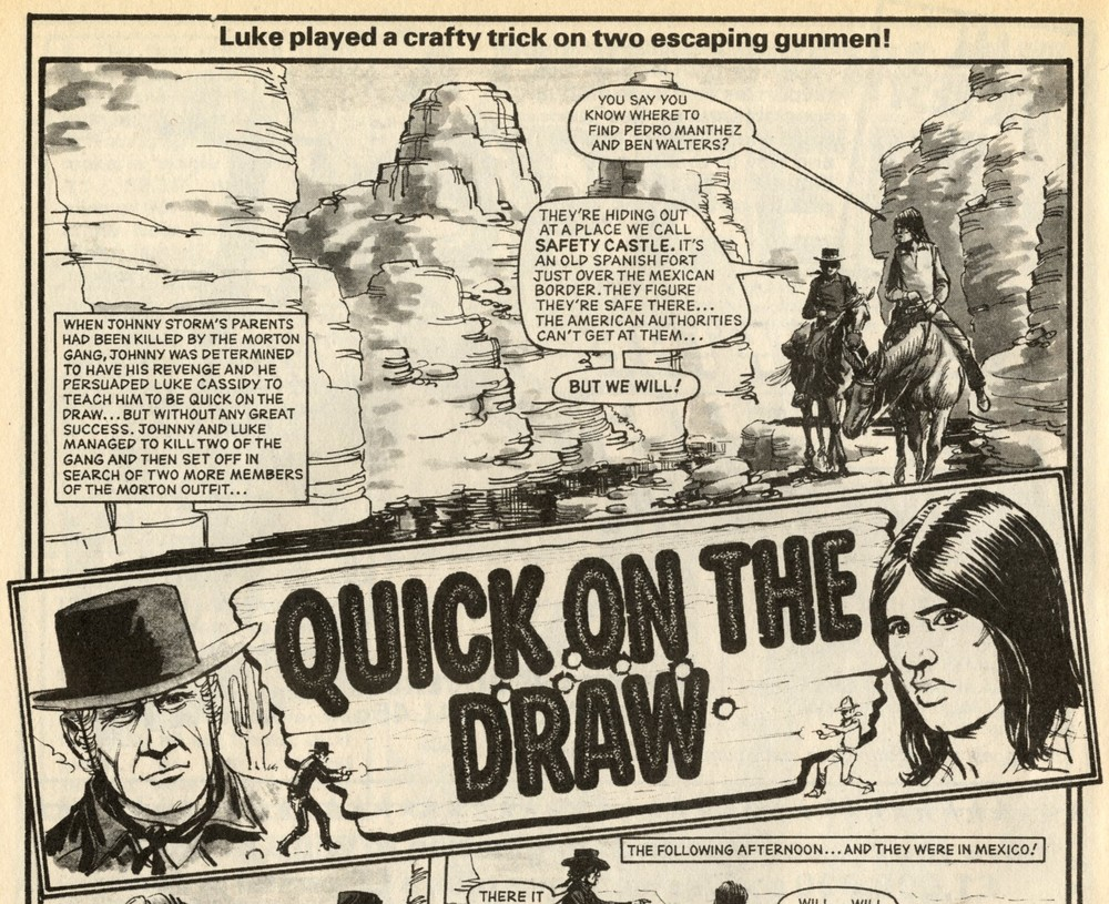 Quick on the Draw: John Gillatt (artist)