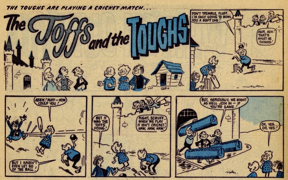 The Toffs and the Toughs: Reg Parlett (artist)