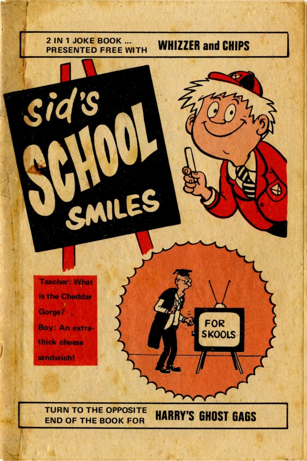 Sid's School Smiles free gift booklet: Mike Lacey (artist)