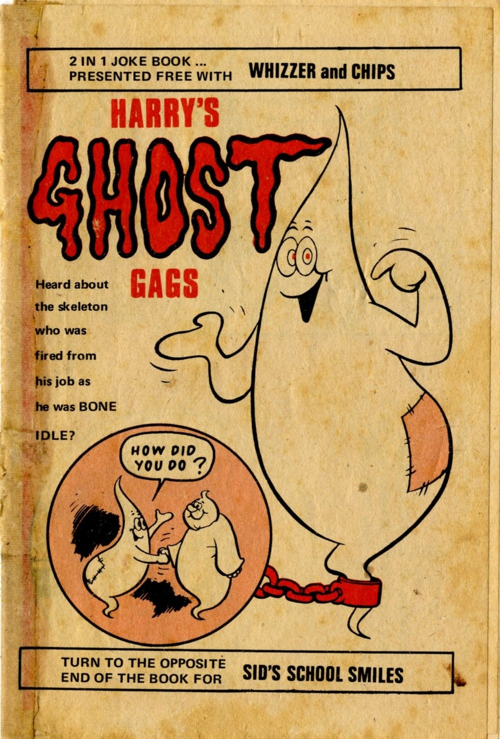 Harry's Ghost Gags free gift booklet: Mike Lacey (artist)