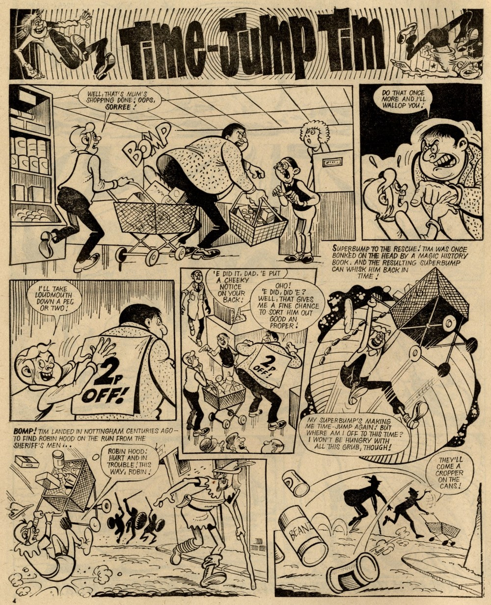 Time-jump Tim: Barrie Appleby (artist)