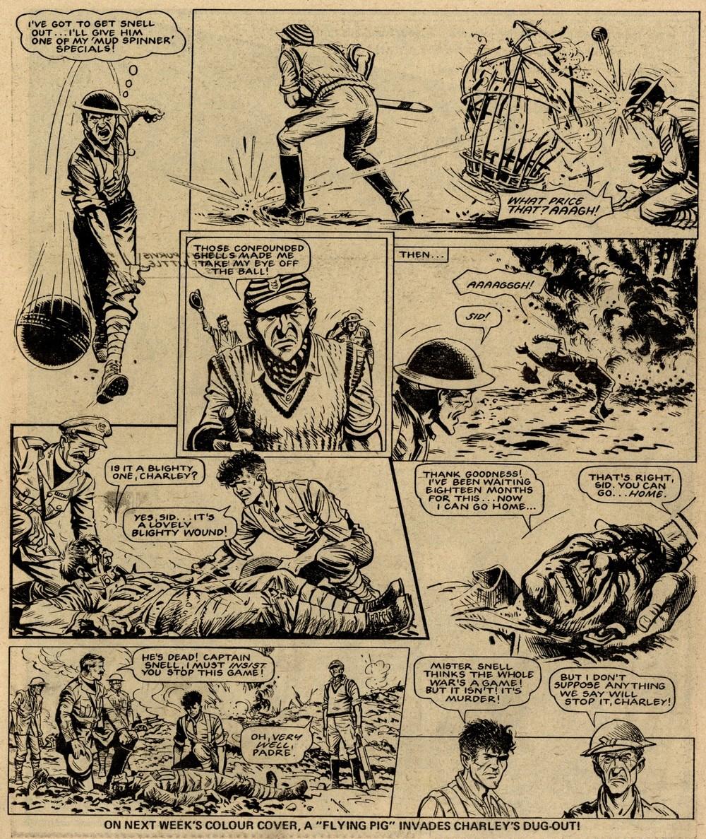 Charley's War: Pat Mills (writer), Joe Colquhoun (artist)