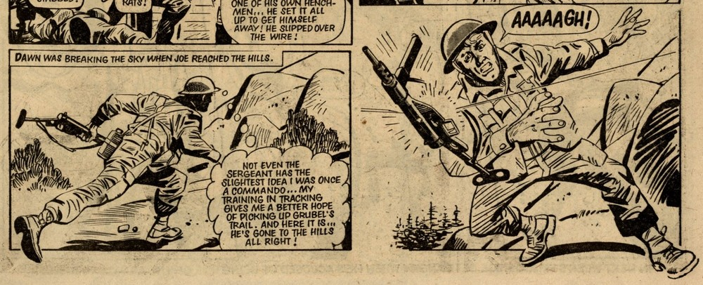 The Commando They Didn't Want: John Richard (writer), Carlos Pino (artist)