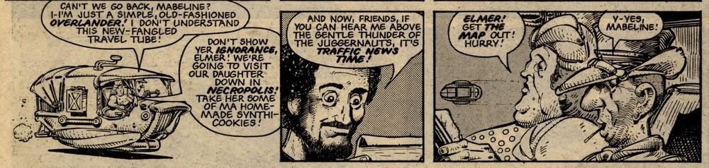Terror Tube: Pat Mills (writer), Kevin O'Neill (artist)