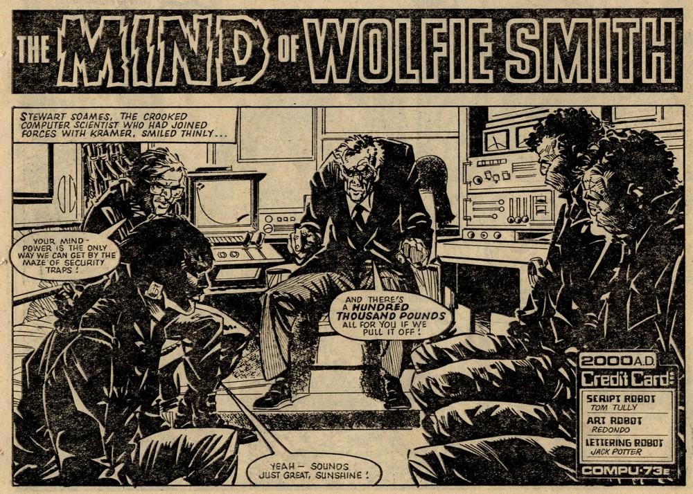 The Mind of Wolfie Smith: Tom Tully (writer), Jesus Redondo (artist)