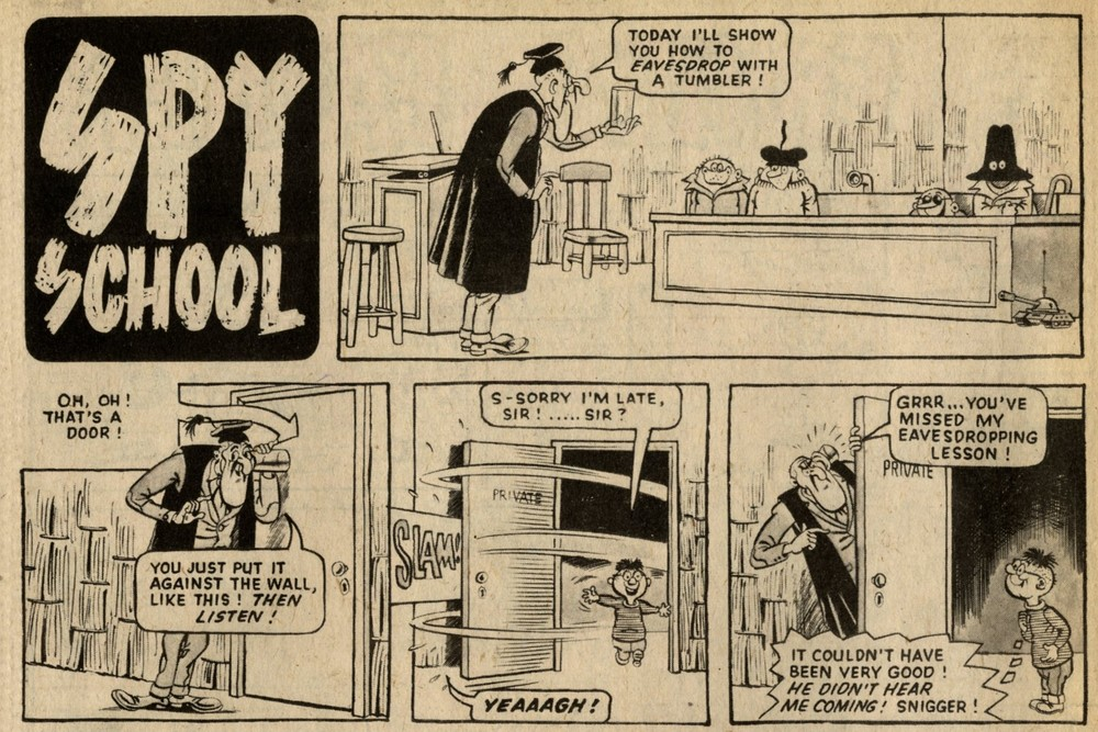 Spy School: Graham Allen (artist)