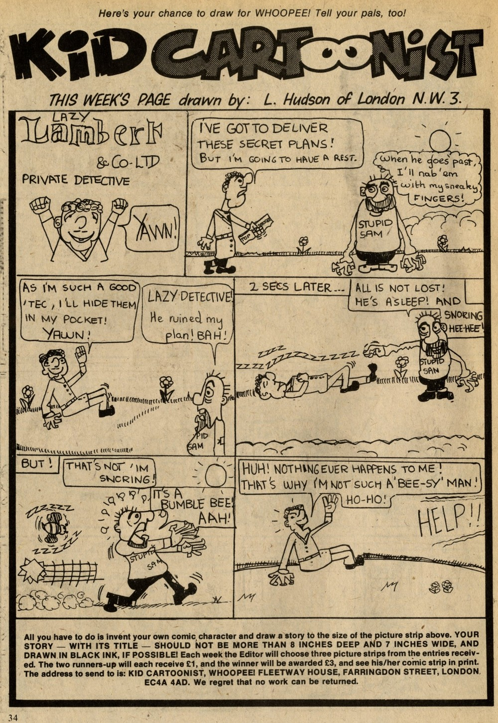 Kid Cartoonist: L Hudson (writer and artist)