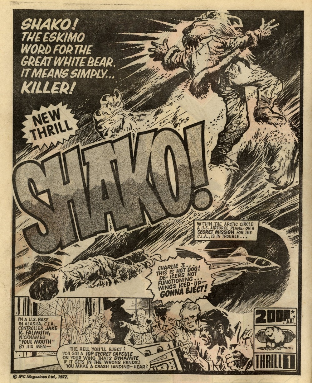 Shako!: Pat Mills and John Wagner (writers), Ramon Sola (artist)