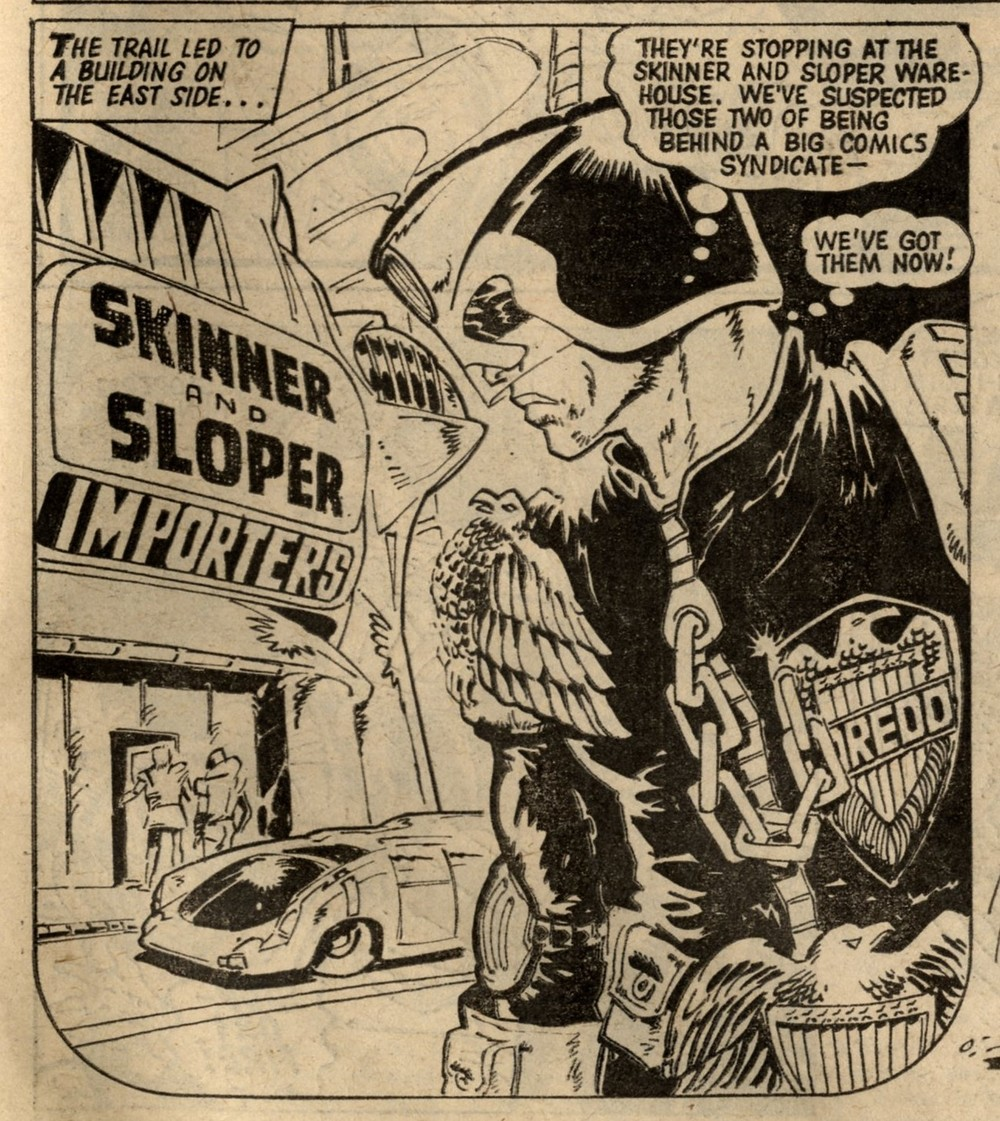 Judge Dredd: John Wagner (writer), Mike McMahon (artist)