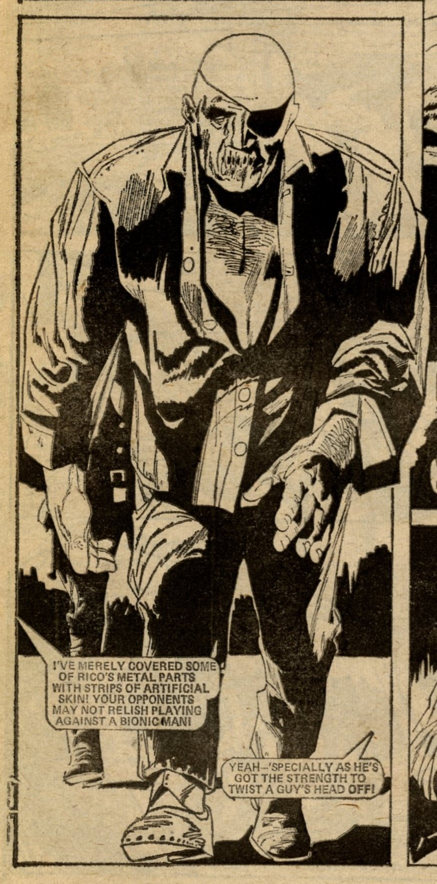 Death Game 1999: Tom Tully (writer), Costa (artist)