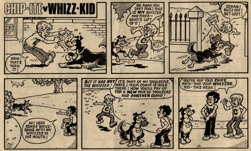 Chip-ite v Whizz-kid: Vic Neill? (artist)