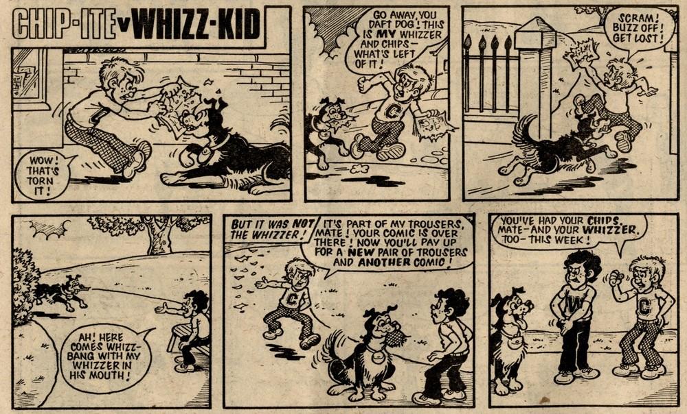 Chip-ite v Whizz-kid: Vic Neill? (artist)