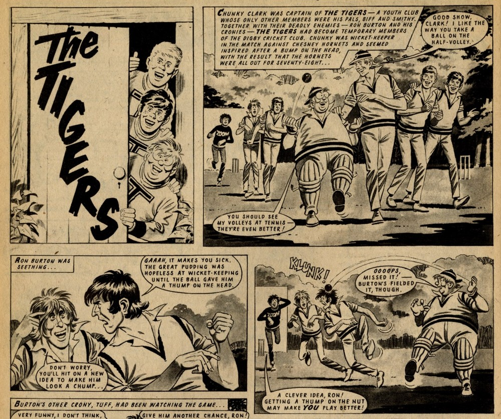 The Tigers: Ron Turner (artist)