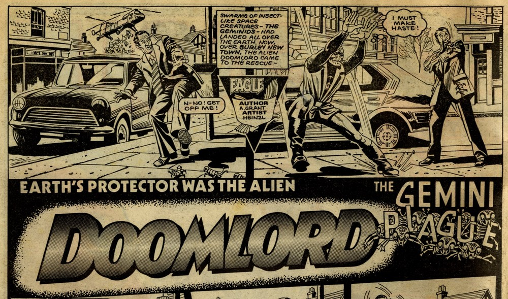 Doomlord: Alan Grant (writer), Heinzl (artist)