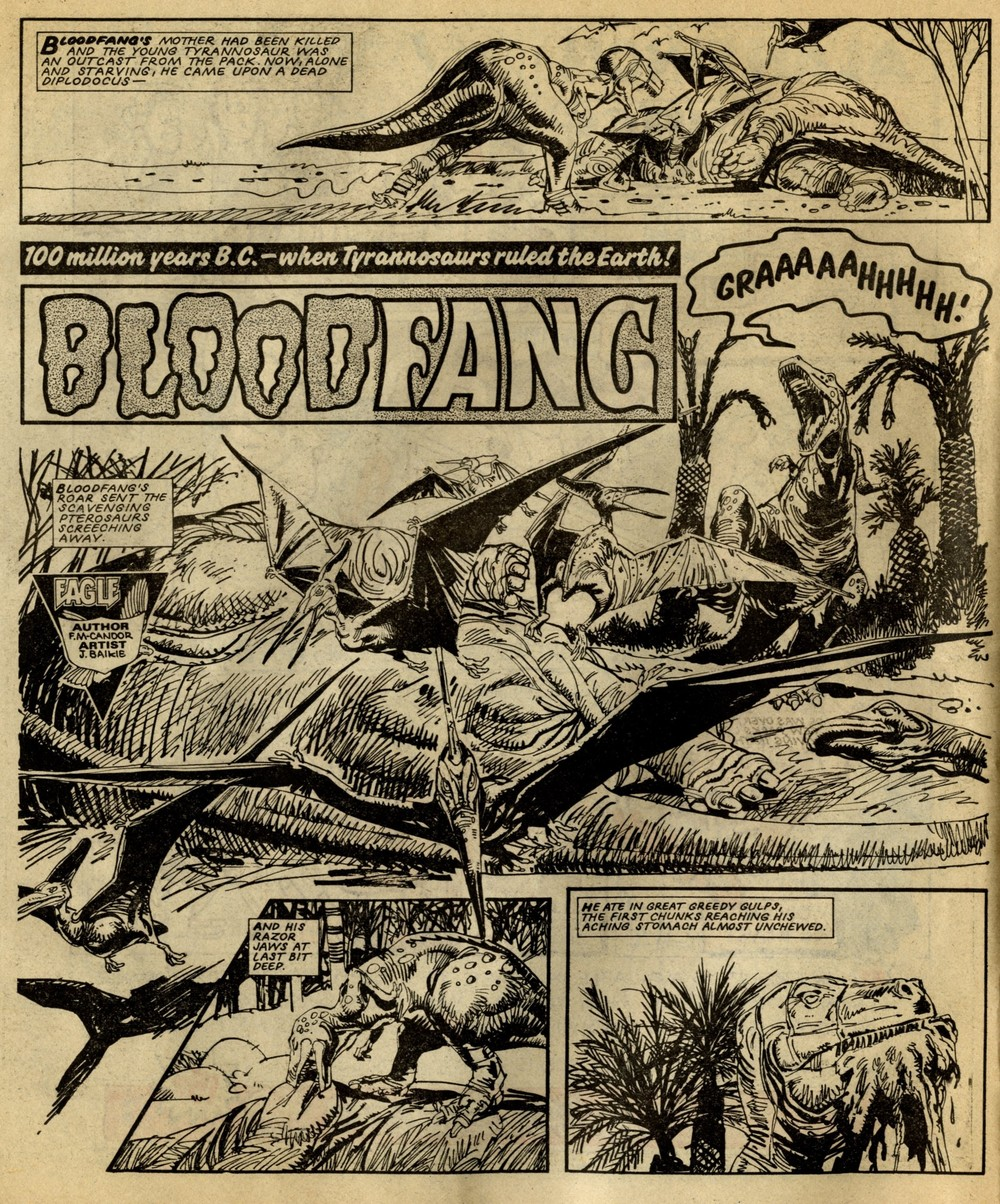Bloodfang: John Wagner and Alan Grant (writers); Jim Baikie (artist)