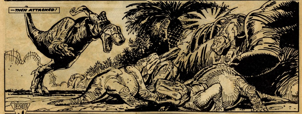 Bloodfang: John Wagner and Alan Grant (writers); Jim Baikie (artist)