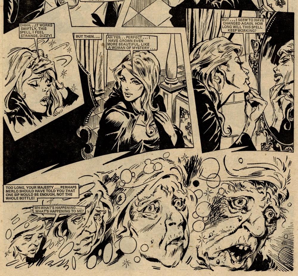 Nightmare: A Spell of Trouble: John Richardson (artist)