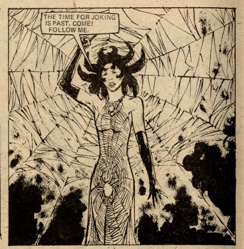 The Black Widow: Honeria Romeu (artist)