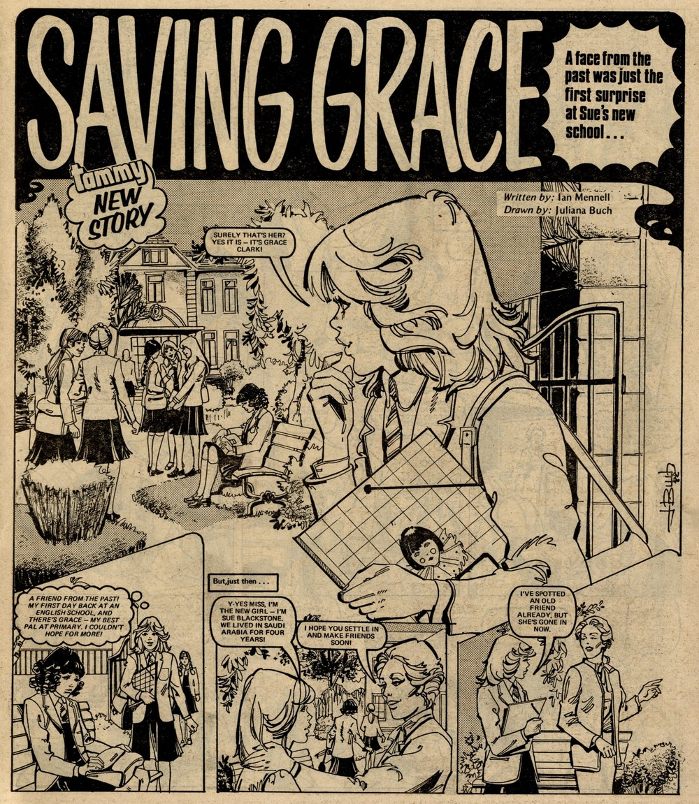Saving Grace: Ian Mennell (writer), Juliana Buch (artist)