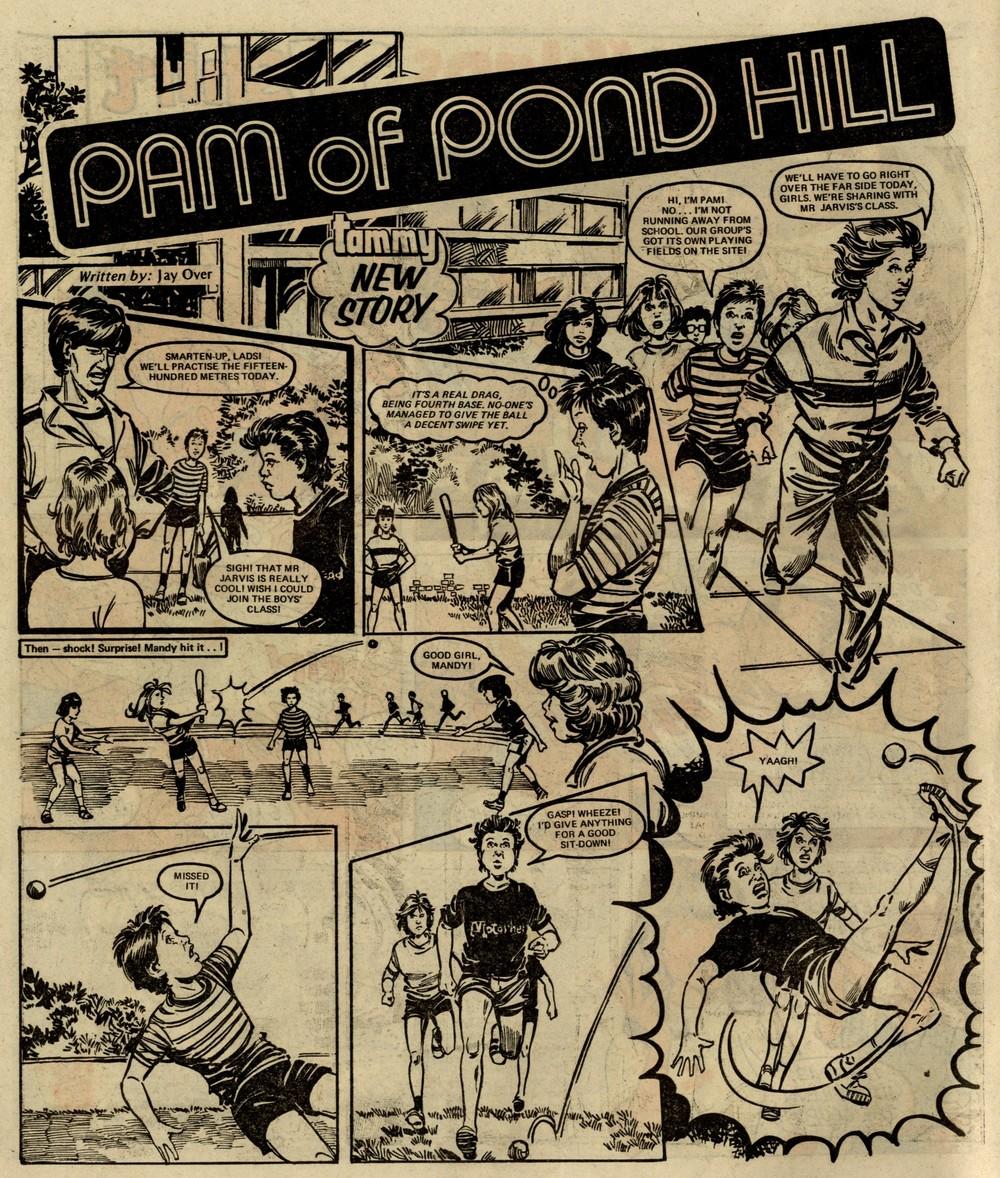 Pam of Pond Hill: Jay Over (writer), Bob Harvey (artist)