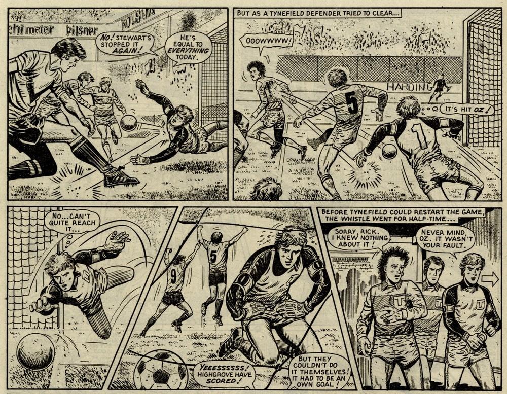 Goalkeeper: Gil Page (writer), Osvaldo Torta (artist)