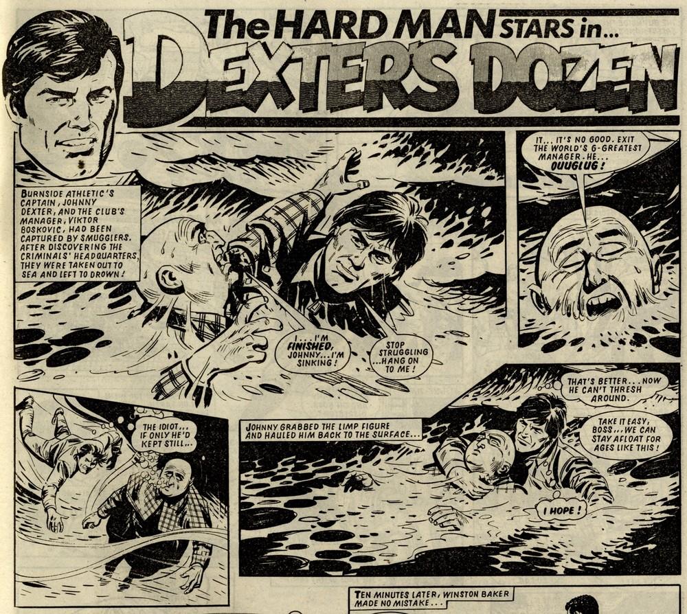 Dexter's Dozen: Barrie Tomlinson (writer), Mike White (artist)