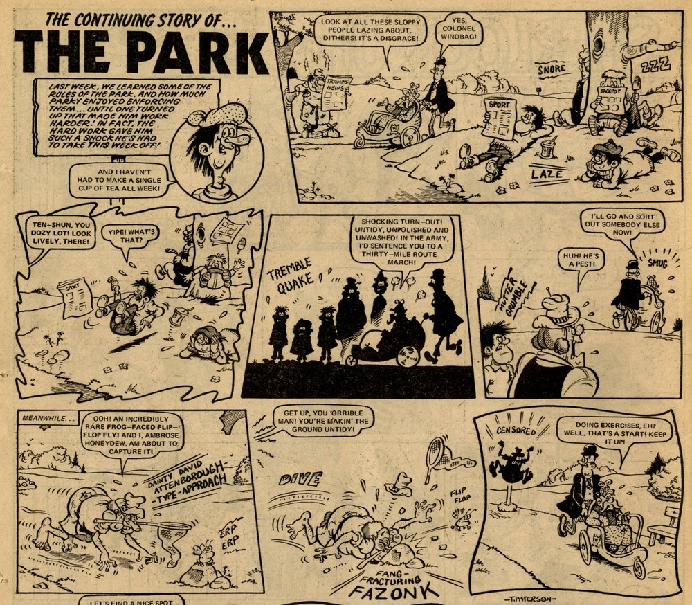 The Park: Tom Paterson (artist)