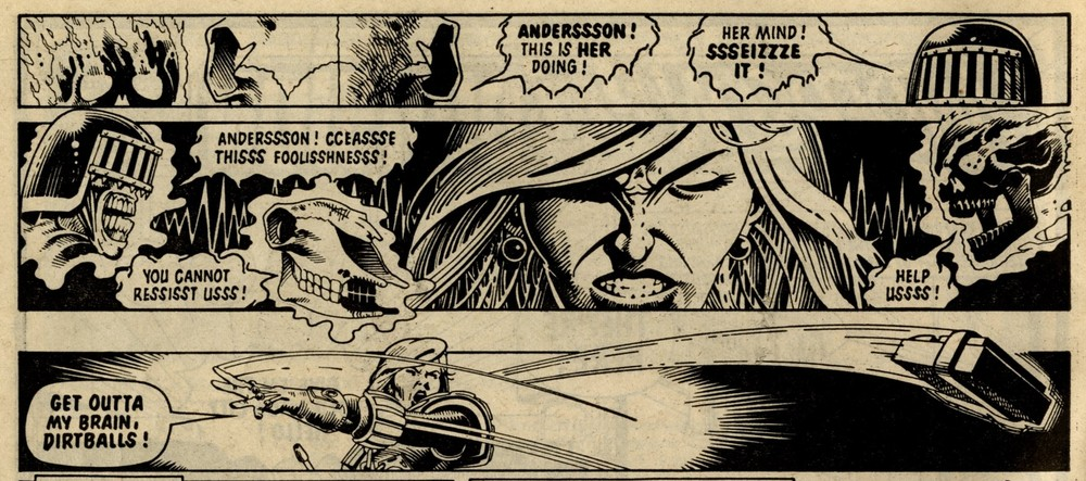 Anderson Psi Division: John Wagner and Alan Grant (writers), Cliff Robinson (artist)