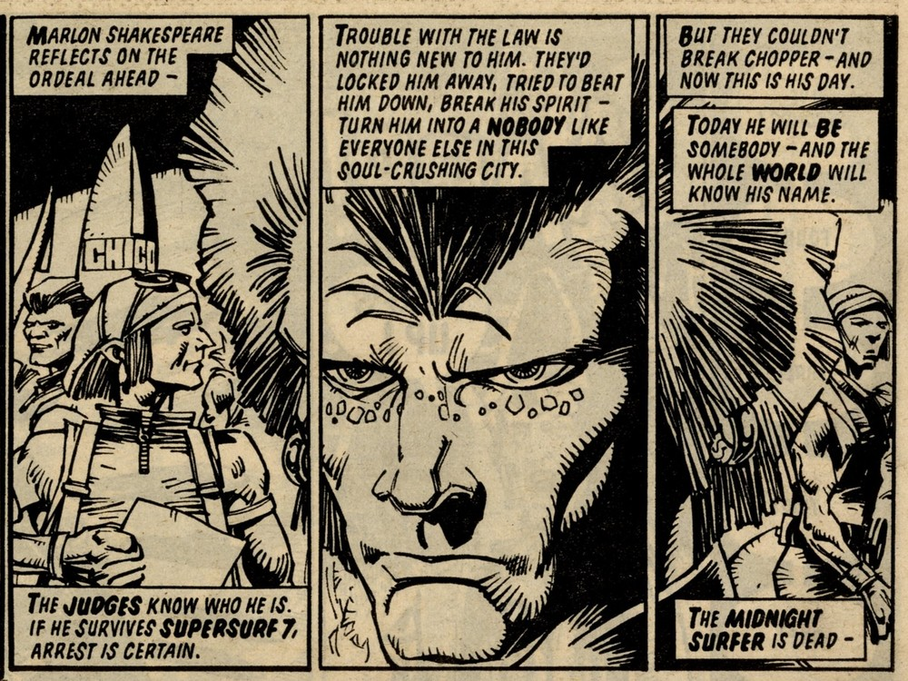 Judge Dredd: John Wagner (writer), Cam Kennedy (artist)
