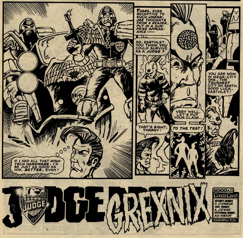 Judge Grexnix: Anthony Jozwiak (artist)