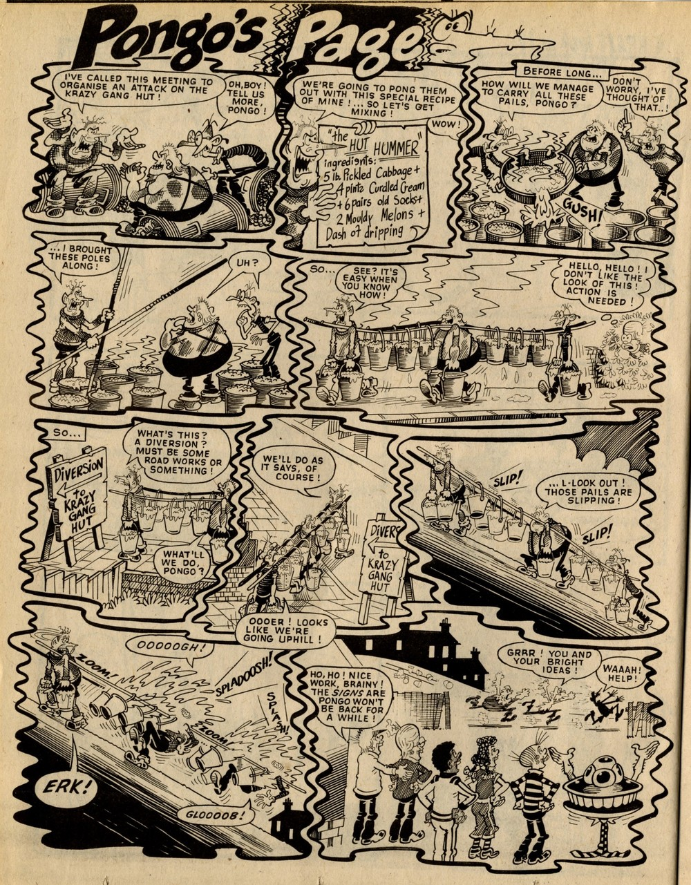 Pongo's Page: Ian Knox (artist)