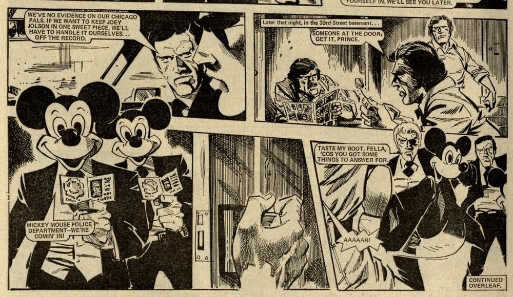 One-eyed Jack: John Wagner (writer), John Cooper (artist)