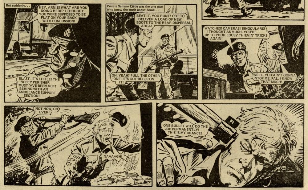 Soldier Sharp: Scott Goodall (writer), Jim Watson? (artist)