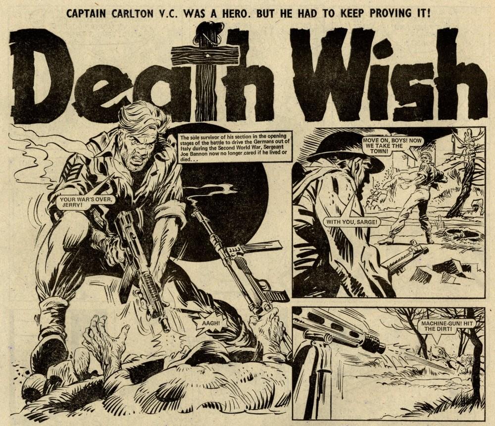Death Wish: Luis Collado Coch? (artist)