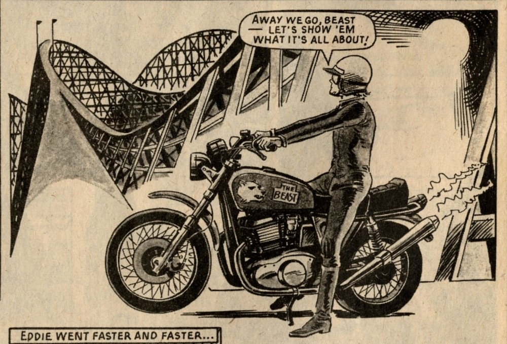 Topps on Two Wheels: artist unknown