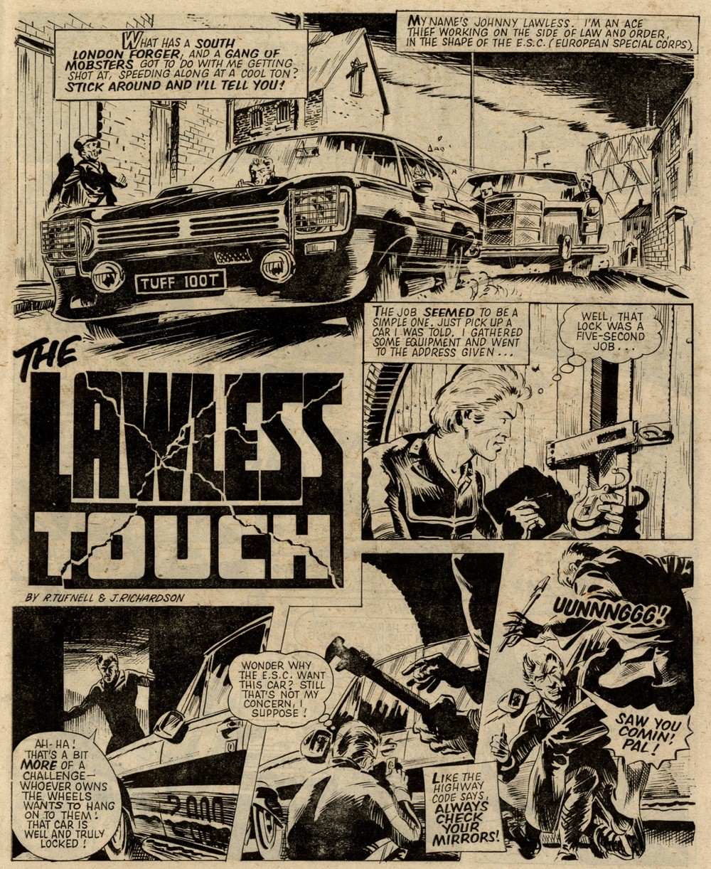 The Lawless Touch: R Tufnell (writer), John Richardson (artist)