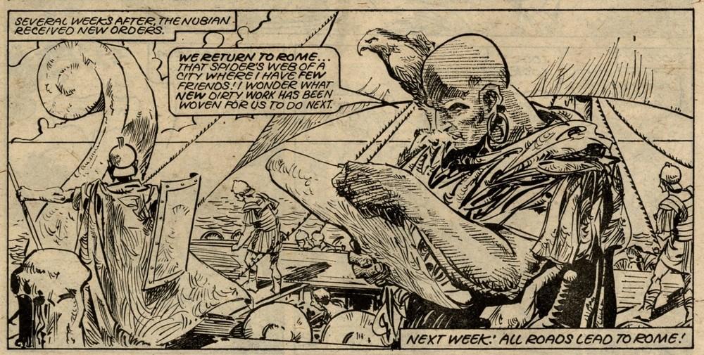 Black Hawk: Gerry Finley-Day (writer), Alfonso Azpiri (artist)