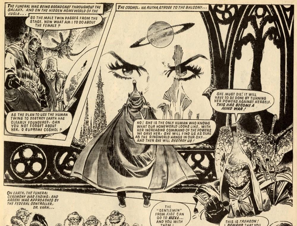 Mind Wars: Alan Hebden (writer), Jesus Redondo (artist)