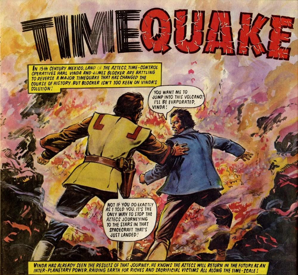 Timequake: Ian Mennell (writer), Magallanes Salinas (artist)
