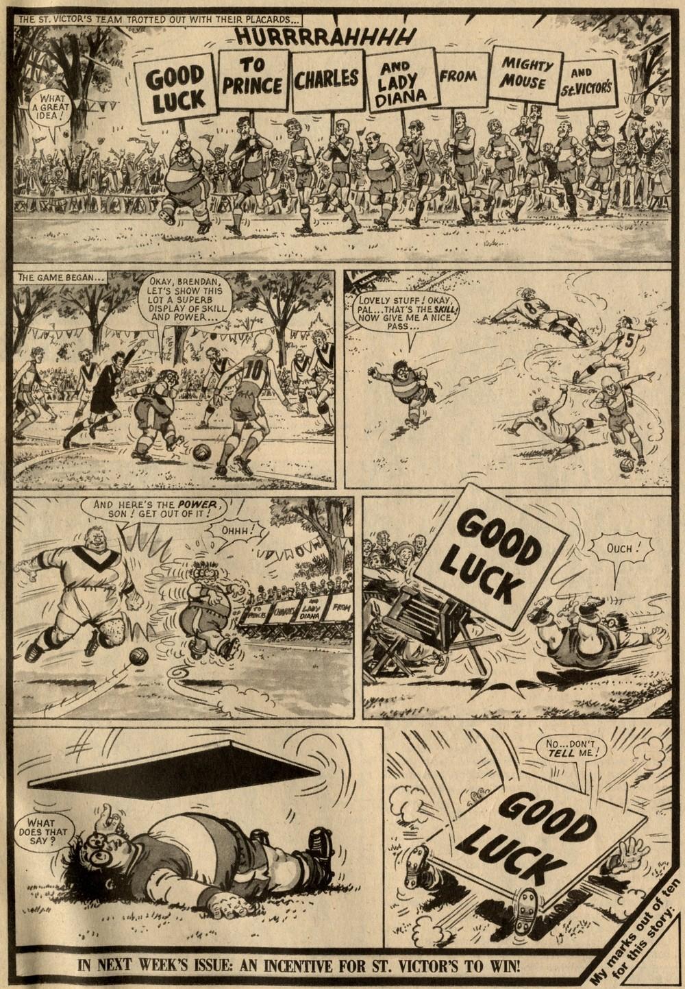 Mighty Mouse: Fred Baker (writer), Julio Schiaffino (artist)