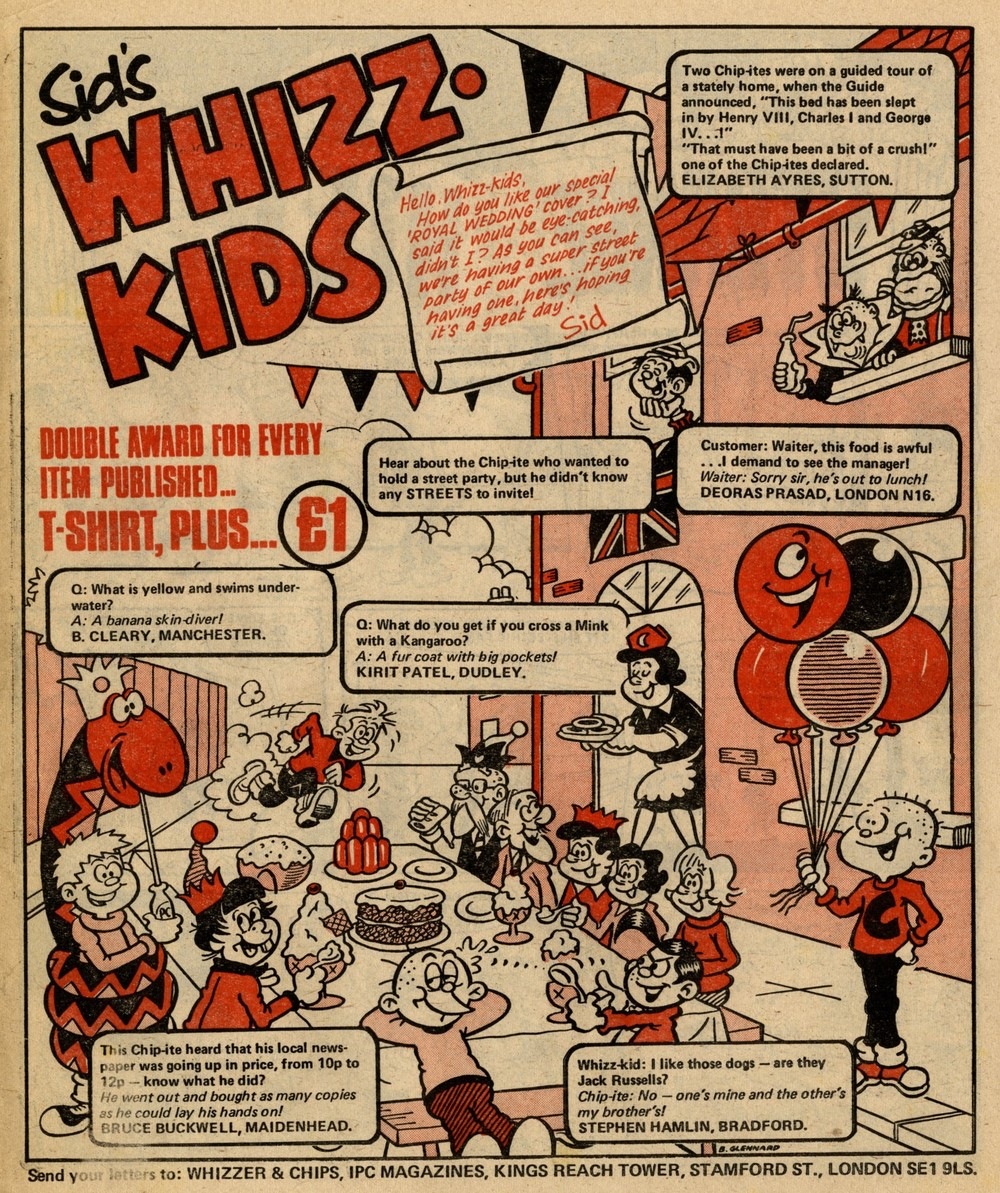 Sid's Whizz-kids: Barry Glennard (artist)